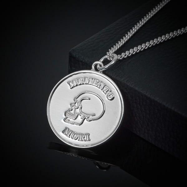 stoic-memento-mori-silver-pendant-necklace