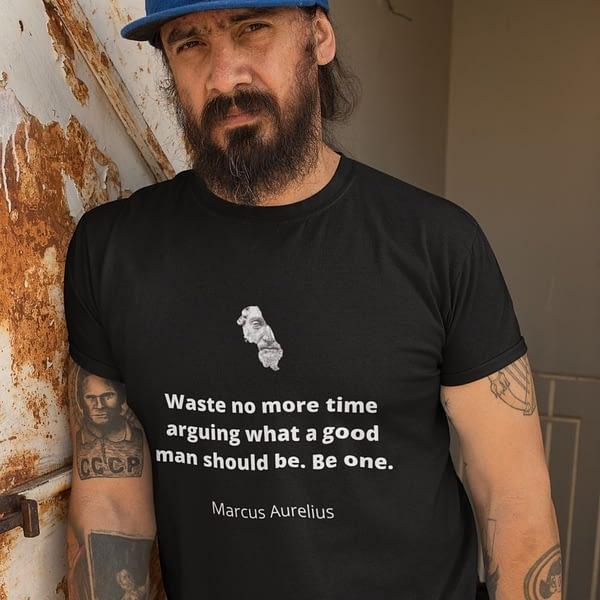 marcus-aurelius-be-one-t-shirt-design