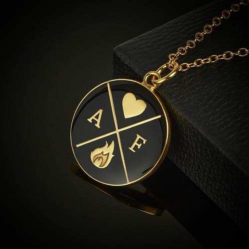 amor-fati-logo-pendant-necklace-black-and-gold
