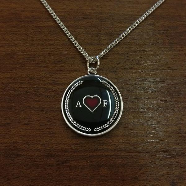 stoic-amor-fati-pendant-necklace-silver-and-black