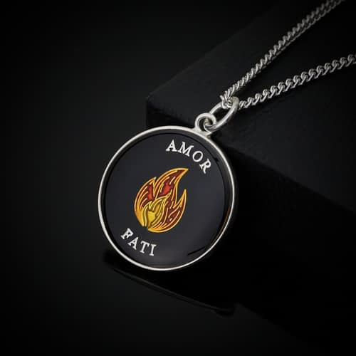 stoic-amor-fati-silver-and-black-enamelled-pendant-necklace